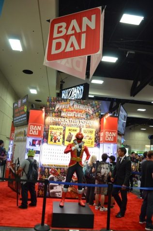 Comic-Con 2014 Bandai Booth