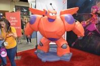 Comic-Con 2014 Baymax Disney Big Hero 6 Booth
