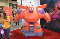 Comic-Con 2014 Baymax Disney Big Hero 6 Booth