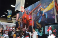 Comic-Con 2014 Big Hero 6 Disney Booth