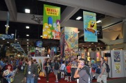Comic-Con 2014 Bongo Comics Booth