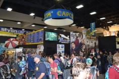 Comic-Con 2014 Capcom Booth