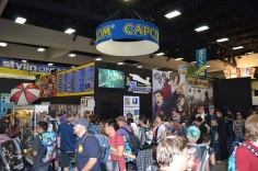 Comic-Con 2014 Capcom Booth