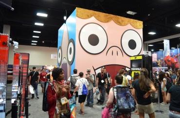 Comic-Con 2014 Cartoon Network Booth