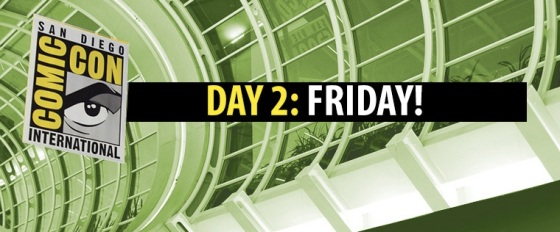 Comic-Con 2014 Complete Friday Panel Schedule