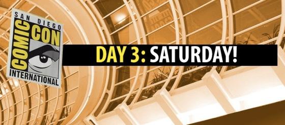 Comic-Con 2014 Complete Saturday Panel Schedule