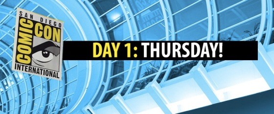 Comic-Con 2014 Complete Thursday Panel Schedule