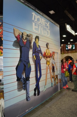 Comic-Con 2014 Cowboy Bebop Funimation Booth