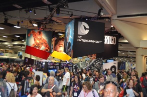 Comic-Con 2014 DC Comics Booth