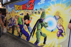 Comic-Con 2014 Dragon Ball Z Funimation Booth 2
