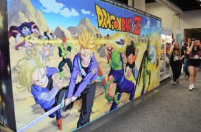 Comic-Con 2014 Dragon Ball Z Funimation Booth