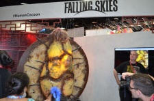 Comic-Con 2014 Falling Skies Booth