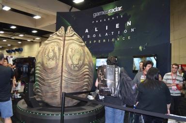 Comic-Con 2014 Gamesradar Alien Isolation Booth