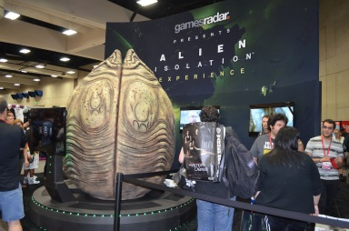 Comic-Con 2014 Gamesradar Alien Isolation Booth