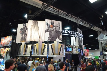 Comic-Con 2014 Gentle Giant Booth