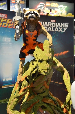 Comic-Con 2014 Guardians of the Galaxy LEGO Booth