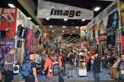 Comic-Con 2014 Image Comics Booth