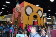 Comic-Con 2014 Jake the Dog Cartoon Network Booth