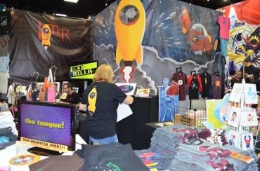 Comic-Con 2014 Later Studio Booth
