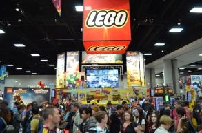 Comic-Con 2014 LEGO Booth