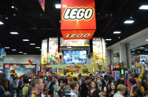 Comic-Con 2014 LEGO Booth