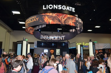 Comic-Con 2014 Lionsgate Hunger Games Booth