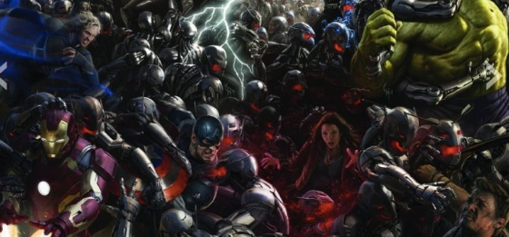 Comic-Con 2014 Marvel's Avengers Age of Ultron Full Concept Art Poster