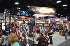 Comic-Con 2014 Max Steel Booth