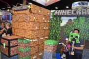 Comic-Con 2014 Minecraft Booth