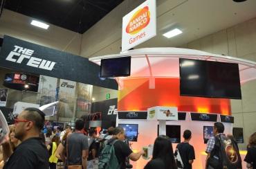 Comic-Con 2014 Namco Bandai Booth