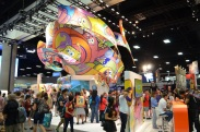 Comic-Con 2014 Nickelodeon Booth 2