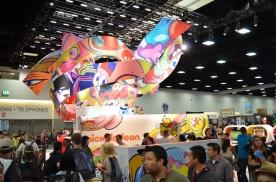 Comic-Con 2014 Nickelodeon Booth 4