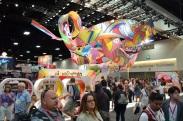 Comic-Con 2014 Nickelodeon Booth