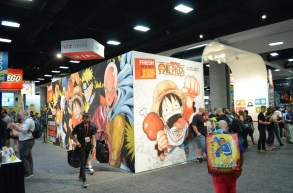 Comic-Con 2014 One Piece Booth