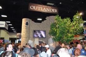 Comic-Con 2014 Outlander Booth