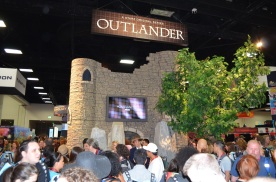 Comic-Con 2014 Outlander Booth