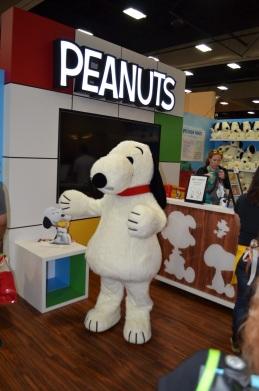 Comic-Con 2014 Peanuts Booth