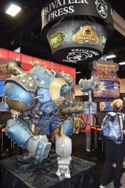 Comic-Con 2014 Privateer Press Booth