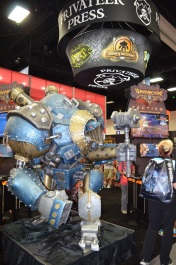 Comic-Con 2014 Privateer Press Booth