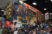Comic-Con 2014 Skybound Booth TWD
