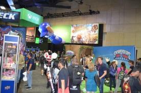 Comic-Con 2014 Skylanders Booth
