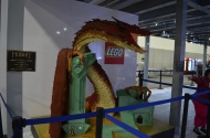 Comic-Con 2014 Smaug LEGO Warner Bros Booth