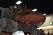 Comic-Con 2014 Smaug The Hobbit Booth