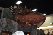 Comic-Con 2014 Smaug The Hobbit Booth