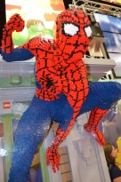 Comic-Con 2014 Spider-Man LEGO Booth 2