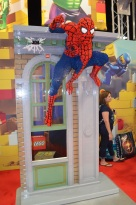 Comic-Con 2014 Spider-Man LEGO Booth