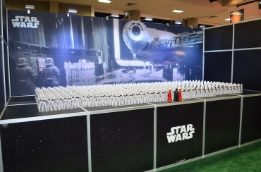 Comic-Con 2014 Star Wars Booth