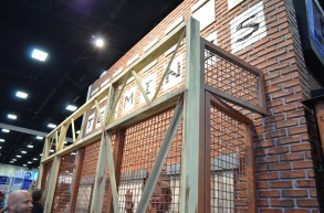 Comic-Con 2014 Terminus The Walking Dead Booth