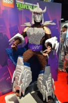 Comic-Con 2014 The Shredder LEGO Booth