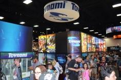 Comic-Con 2014 Toynami Booth